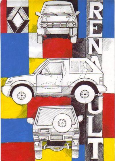 الصورة (1) - الملصقات الإعلانية - مستوى 2 ثانوي إعدادي 1mo