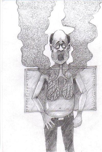 الصورة (2) - الكاريكاتير - مستوى 1 ثانوي إعدادي 4c