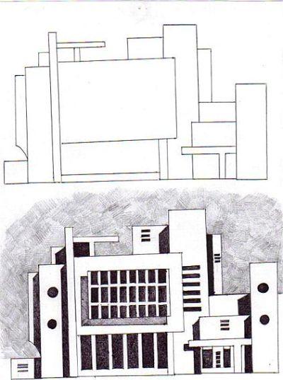 فن التصميــــم - التصميم المعماري  - مستوى 3 ثانوي إعدادي 6a