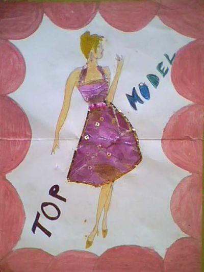 فن التصميــــم - تصميم الأزياء النسائية - مستوى 2 ثانوي إعدادي   Img0259a