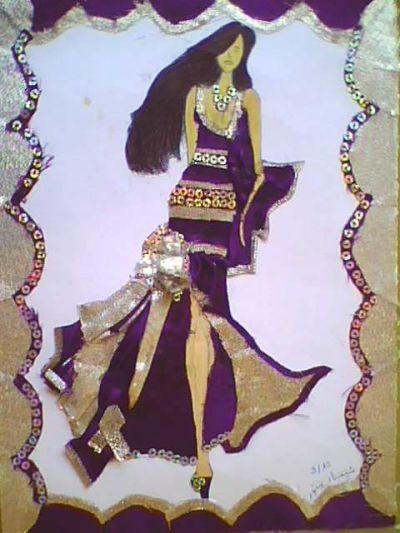 فن التصميــــم - تصميم الأزياء النسائية - مستوى 2 ثانوي إعدادي   Img0261a