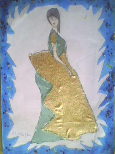 فن التصميــــم - تصميم الأزياء النسائية - مستوى 2 ثانوي إعدادي   Img0262a