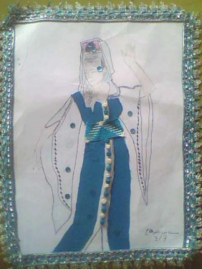 فن التصميــــم - تصميم الأزياء النسائية - مستوى 2 ثانوي إعدادي   Img0266a