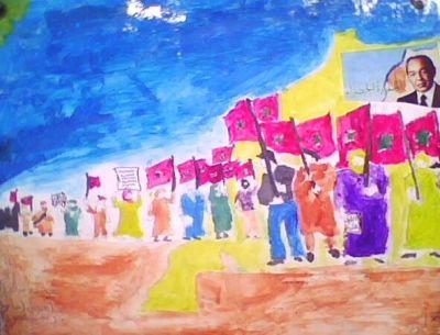 أعمال فنية للتلاميذ حول المسيرة الخضراء Img0354a
