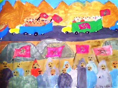 أعمال فنية للتلاميذ حول المسيرة الخضراء Img0358a