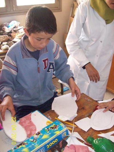 أنشطة النادي البيئي للثانوية الإعدادية خالد بن الوليد - السنة الدراسية 2010 / 2011 Photosfatima3