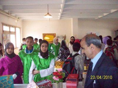 أنشطة النادي البيئي للثانوية الإعدادية خالد بن الوليد - السنة الدراسية 2010 / 2011 Photosfatima5