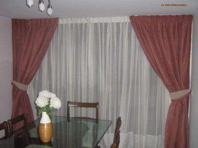 Cl decoraciones galeria de fotos - Abrazaderas para cortinas ...