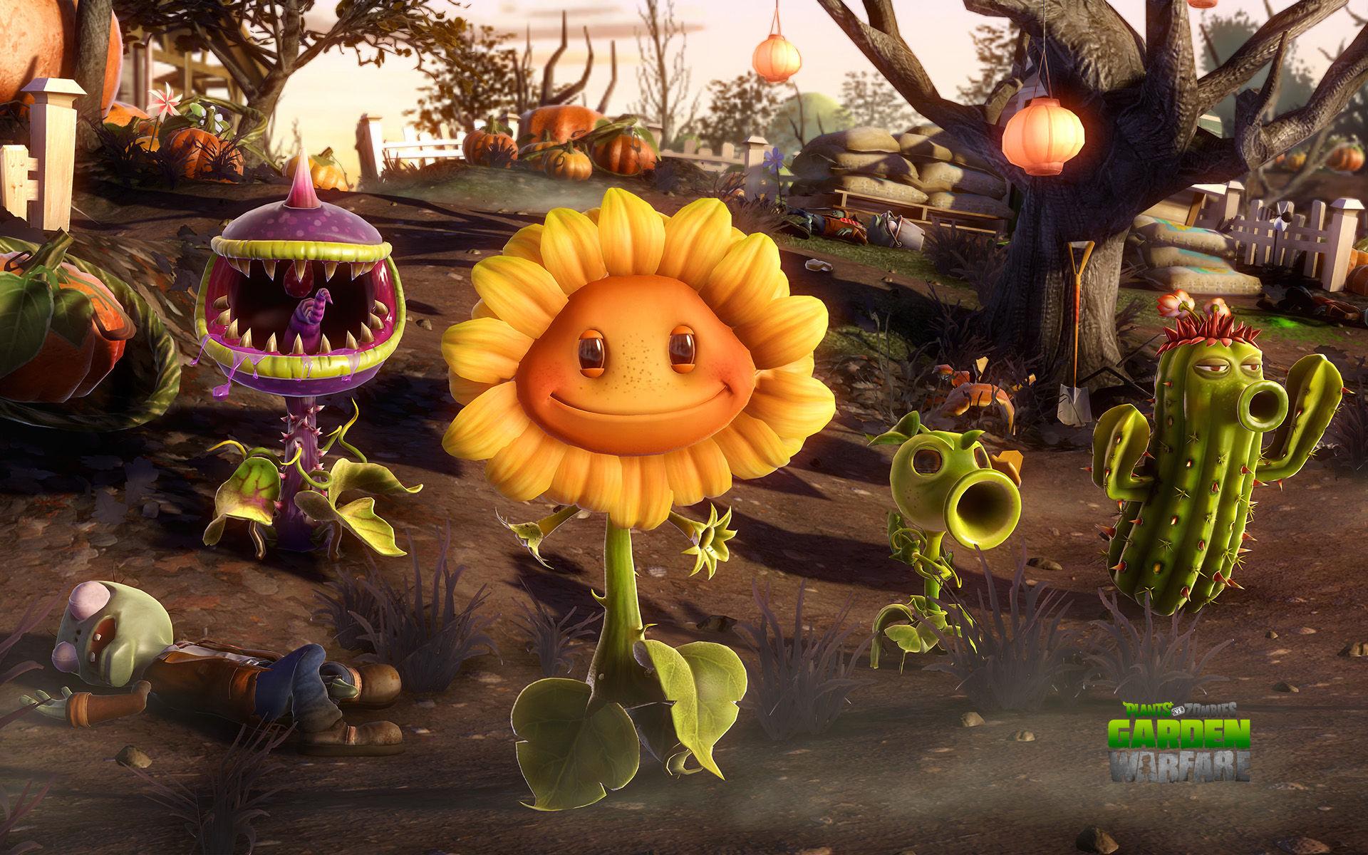 Растения против зомби 5 фотография