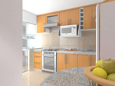 Condominio amalia de boulevard lujo tranquilidad y for Cocina y lavanderia juntas