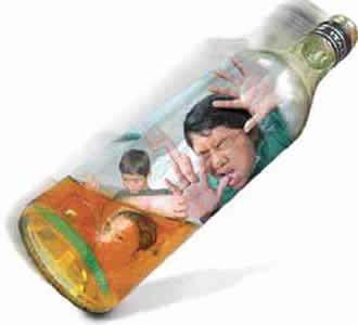 La curación del alcoholismo por la iglesia
