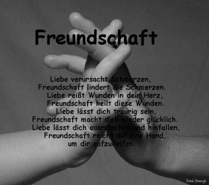 Freundschaft ist der Baum,
