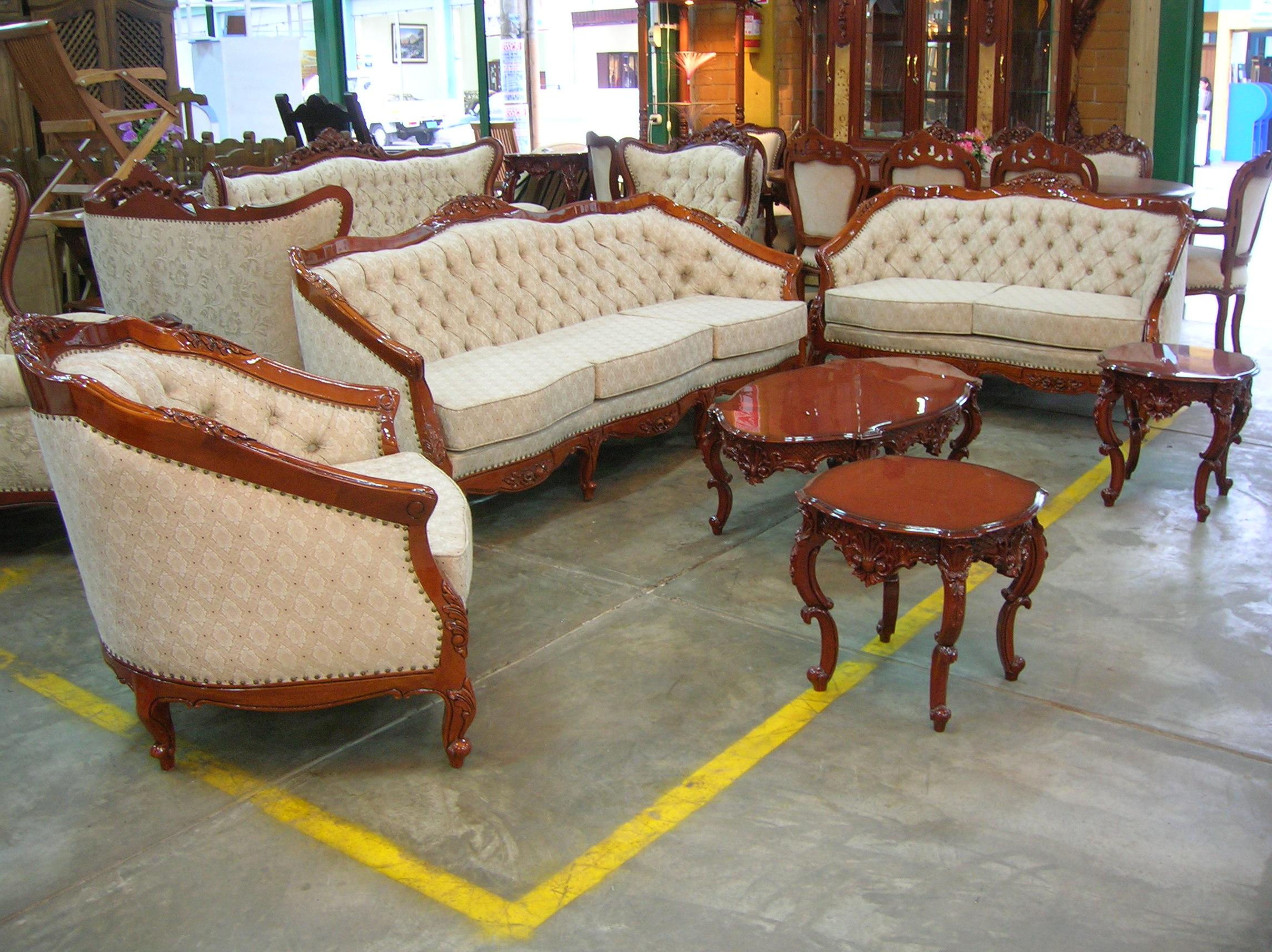 Muebles tallados anuncio olx for Muebles de sala en oferta lima peru