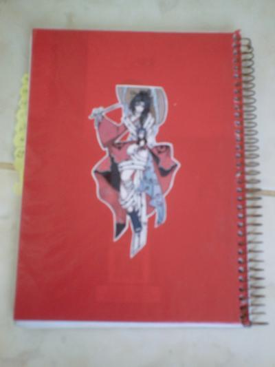 Caderno Otaku [Fácil] Cadernocontracapa