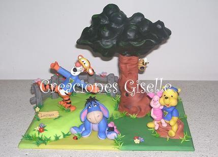 Winnie Pooh Y Sus Amigos En El Bosque AT093 1