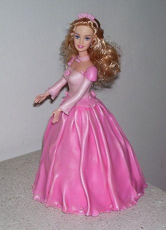 Adornos para Tortas - Barbie - AT107