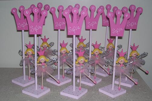 Centros de mesa Princesas Bailarinas