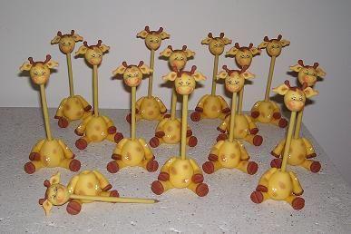 creaciones Malu: souvenirs, adornos de tortas en porcelana