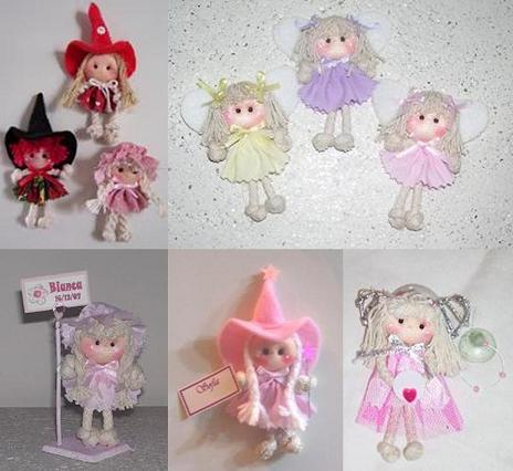 Nacimiento y 1º Añito Souvenirs - Nenitas Mini - N001