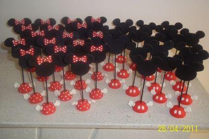 Souvenir Minnie y Mickey - Imagui