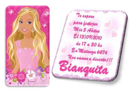 Invitación Barbie Para Imprimir Imagui