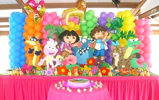 Fiesta infantil de Dora y diego - Imagui