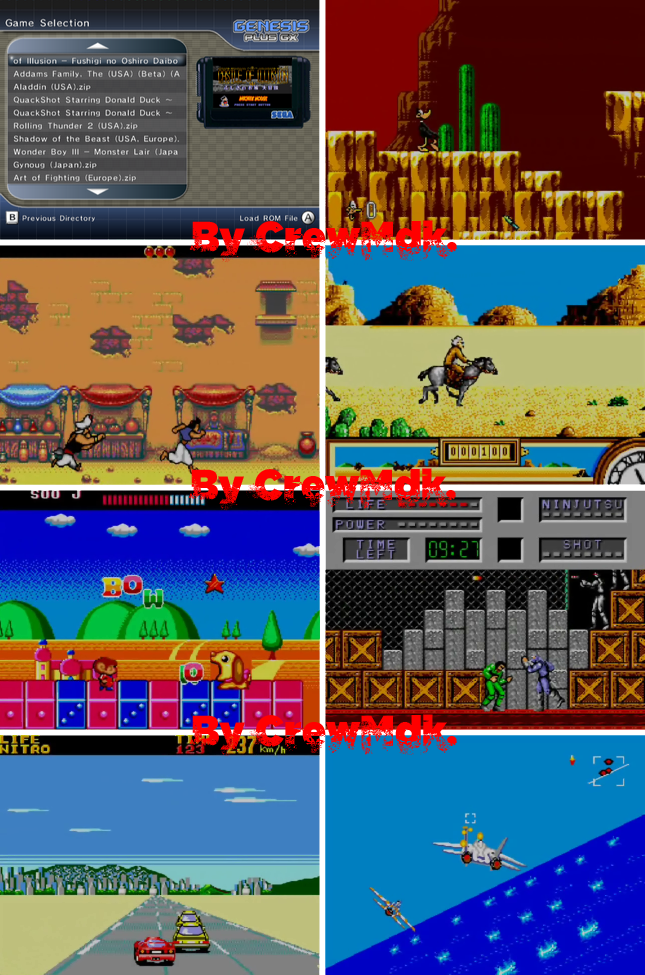 Sega Master System con 400 Roms y 400 Title Snaps [Wii][MG]