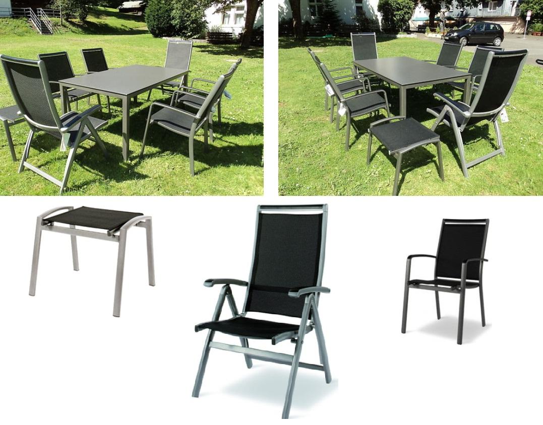 MWH Royal Garden Gartenmöbel Set Loft - Tisch mit Victo | eBay