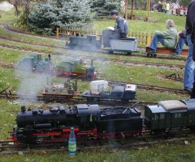 Impressionen aus der Welt der personenbefördernden Gartenbahn Rdbl1006