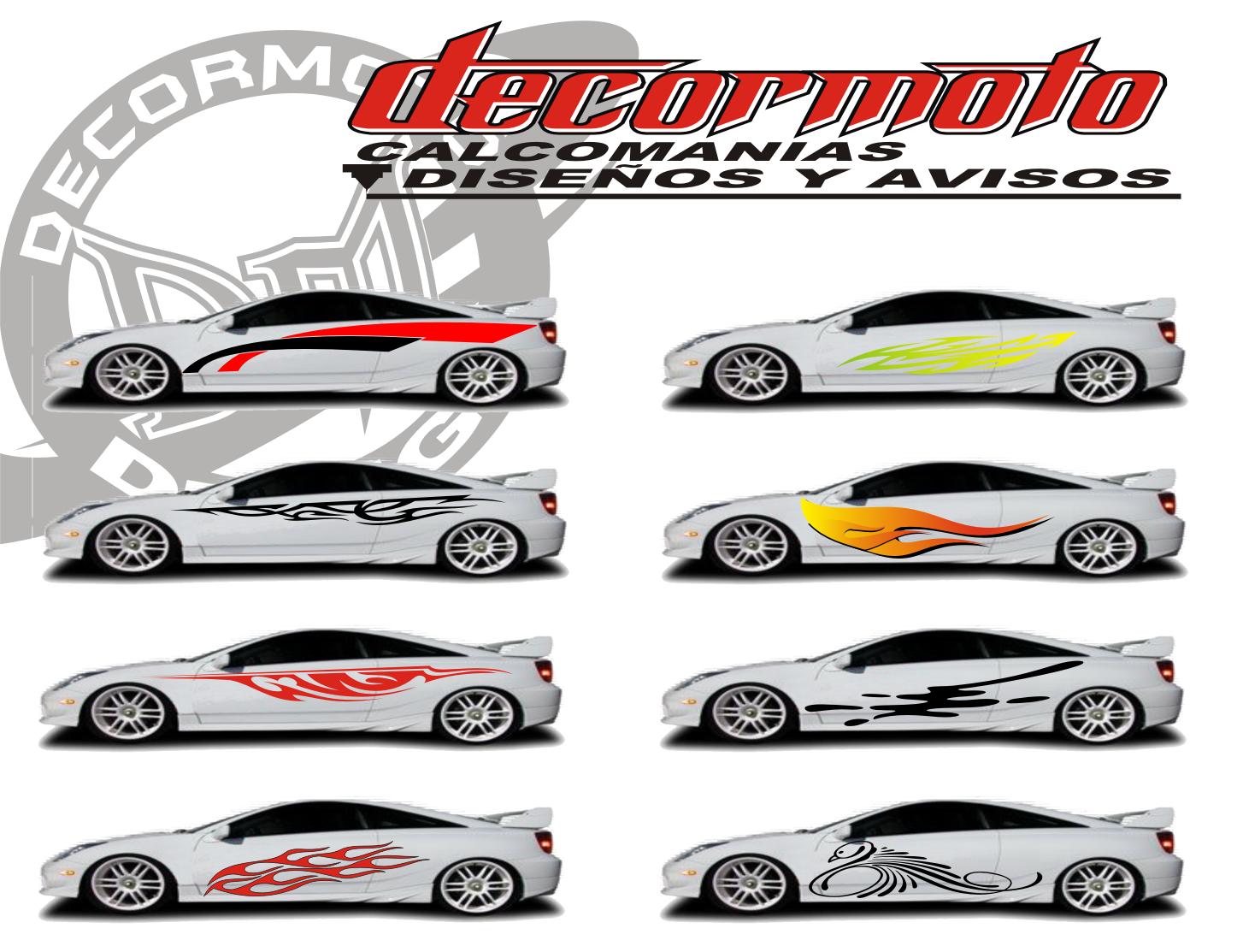 Disenos de calcomanias para carros car interior design for Calcomanias para pared