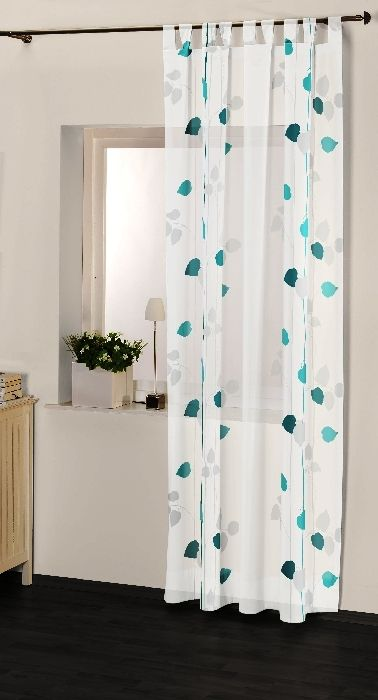 deko und gardinen ribanna schlaufenschal. Black Bedroom Furniture Sets. Home Design Ideas