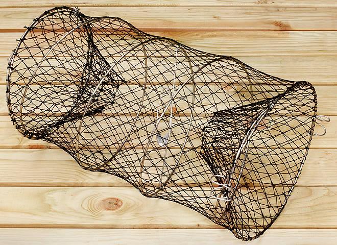 Рыболовная сеть плетеная в вершах название