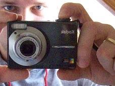 Kamera im Spiegel