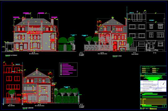 dessinateur autocad projet 3 With creer plan maison 3d 15 dessinateur autocad projet 3