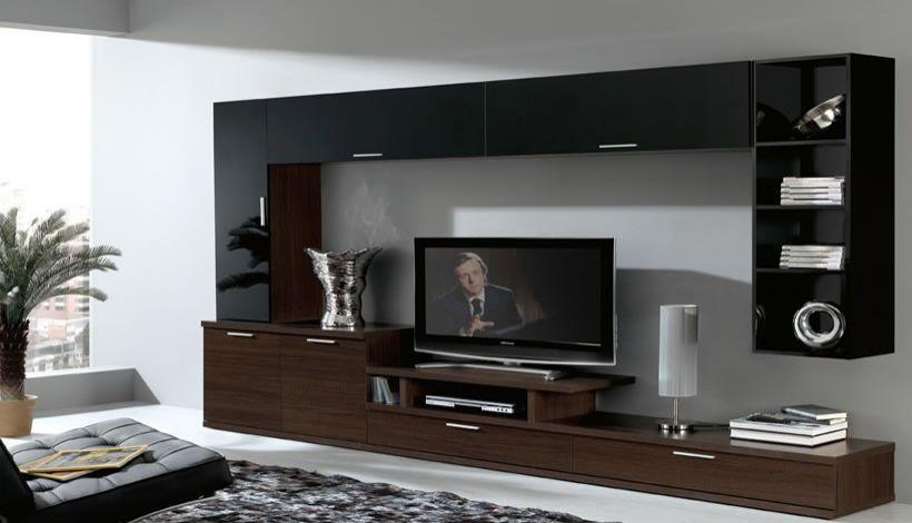 Muebles para televisor modernos diseando alrededor de un - Muebles de tele ...