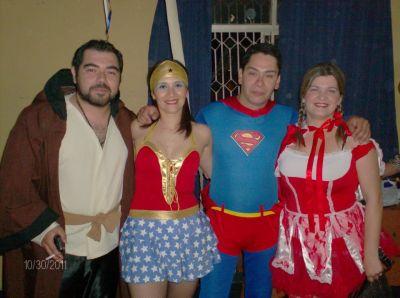 Disfraz Superman Mujer Mujer Maravilla Superman