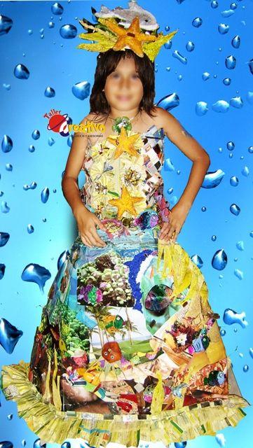 Disfraces De Material Reciclado