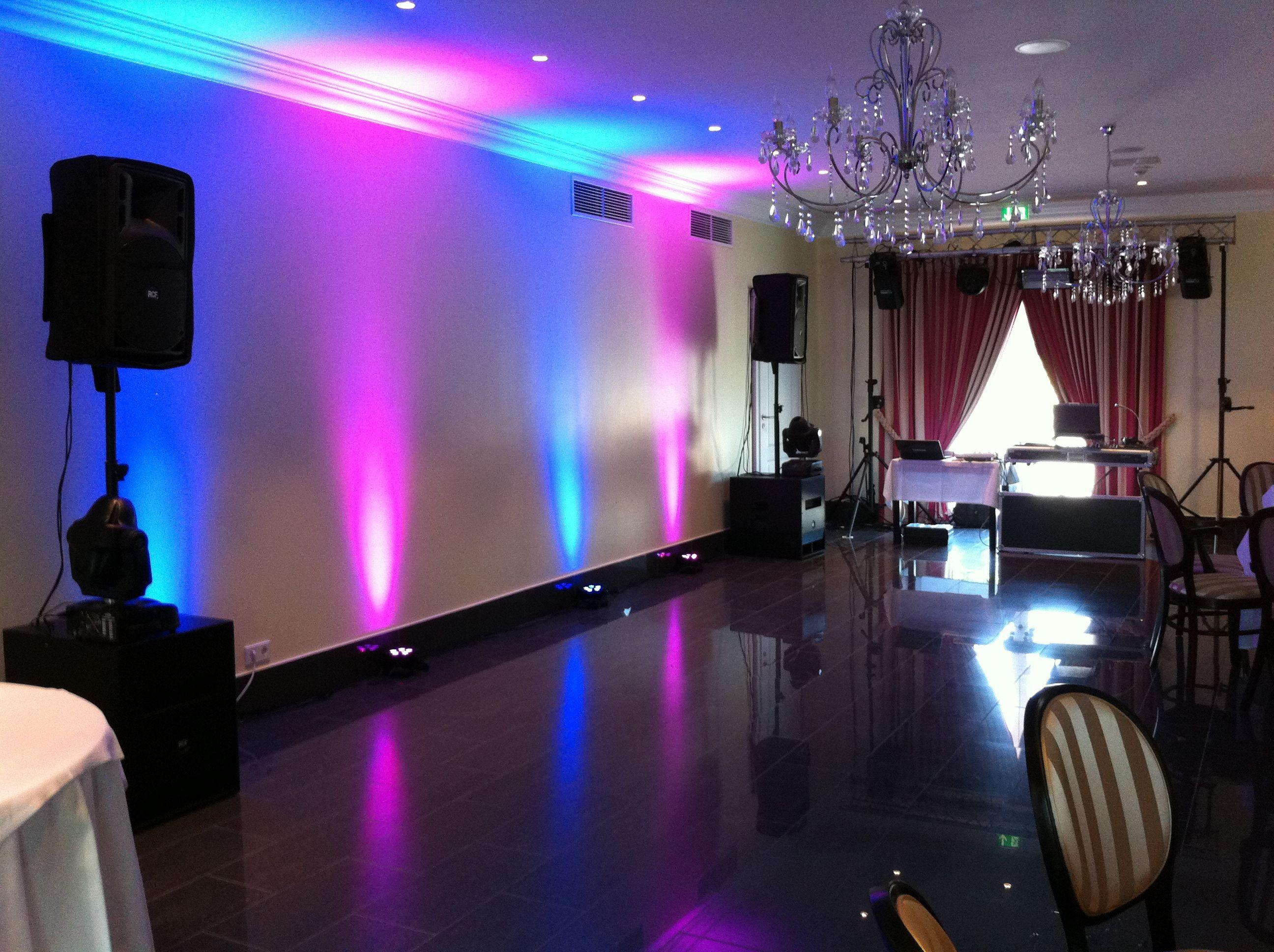 Bayrisches Landhaus Bielefeld (LED Wandbeleuchtung) Dj Team Herford