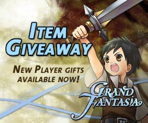 Grand Fantasia Item Keys Giveaway