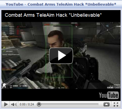 Combat Arms TeleAim [VIP]  Combat Arms Vip hack