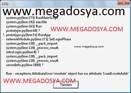 loghatasiqe8 Metin2 log hatası çözümü  Resimli Anlatım