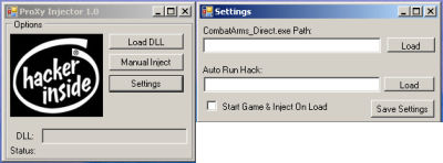 Combat Arms ProXy Injector 1.0 Download