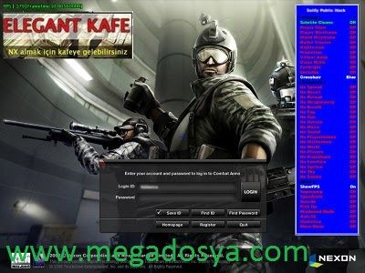 Combat Arms eu -menl-Elegant Kot Hack-indir