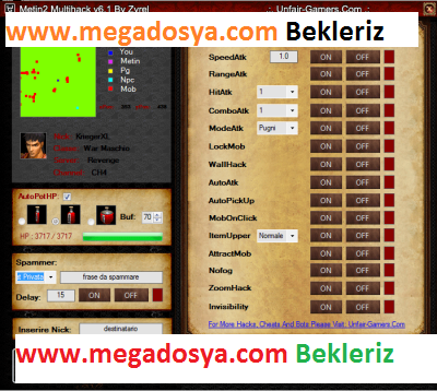 Metin2 MultiHack ta 6.1 FishBot +AttractMob +AutoHP +Mp Sender