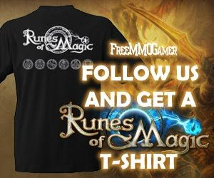Follow Us and Get a Runes of Magic T-Shirt