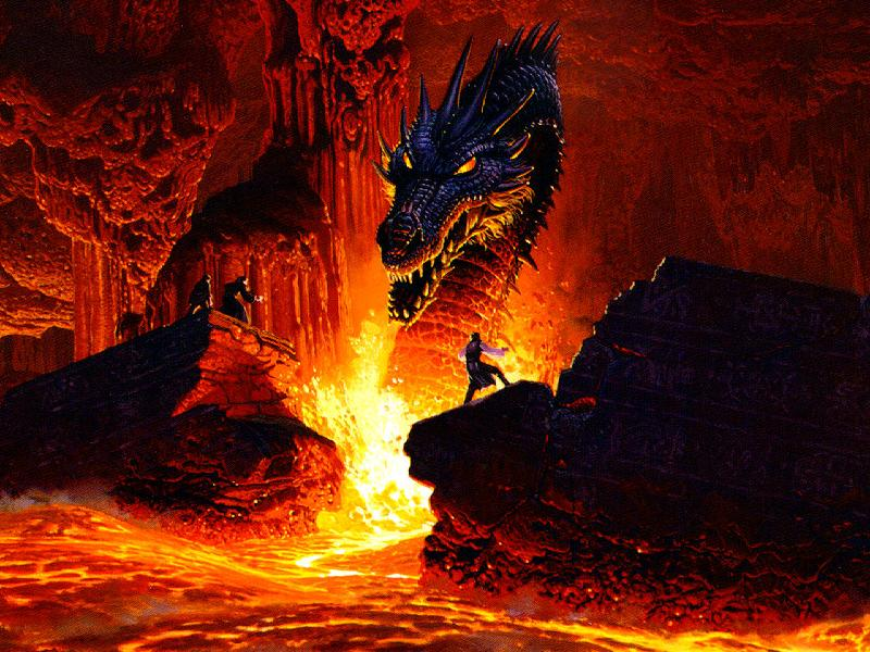 Kazuya der Dragon Slayer des Magmas :) Drach