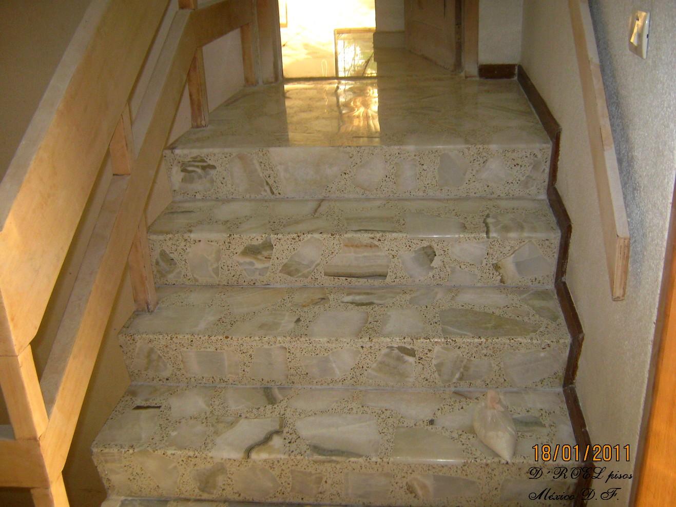 Droelpisosmexico escaleras for Modelos de granitos para pisos
