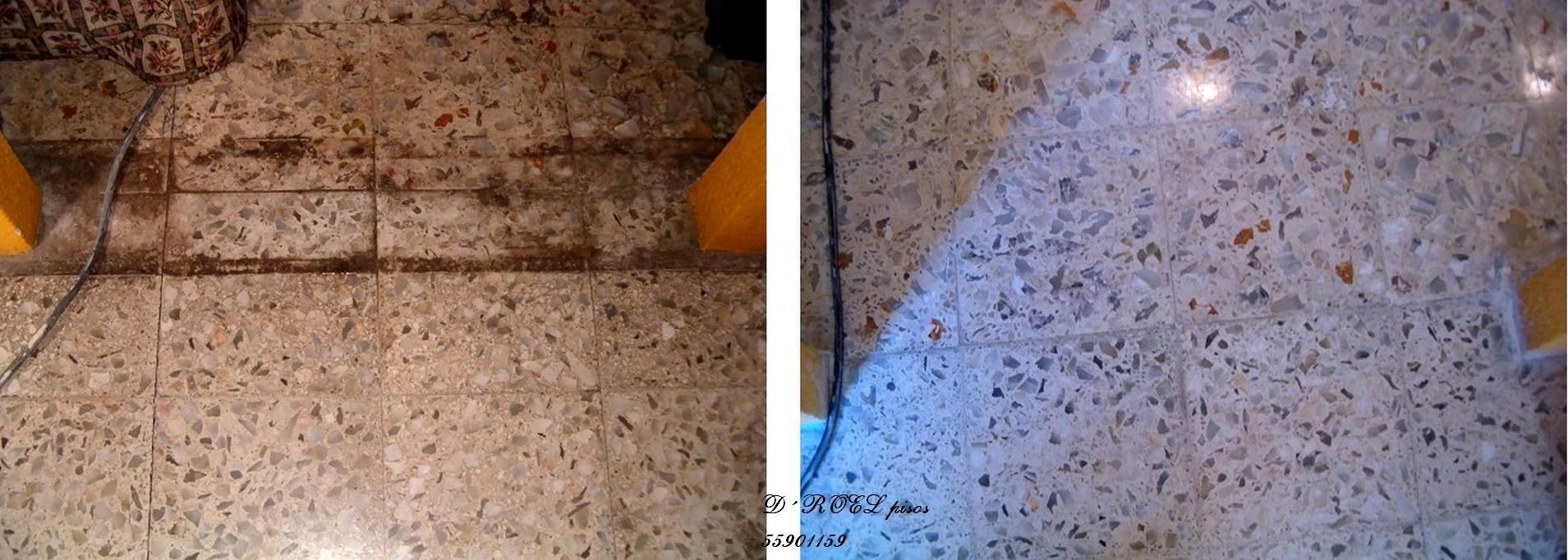 Piso granito pulido y mantenimiento en mercado for Precio del marmol y granito