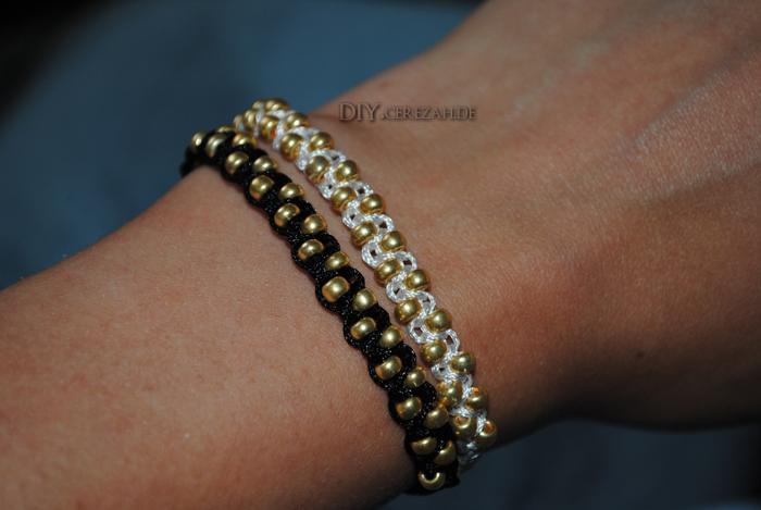 Diy Cerezah Tutorial Zigzag Armband Weberknoten Perlen