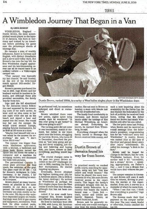 Bild: Bericht New York Times 2010, U.S.A.